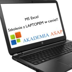 MS Excel średniozaawansowany - Szkolenie z laptopem w cenie