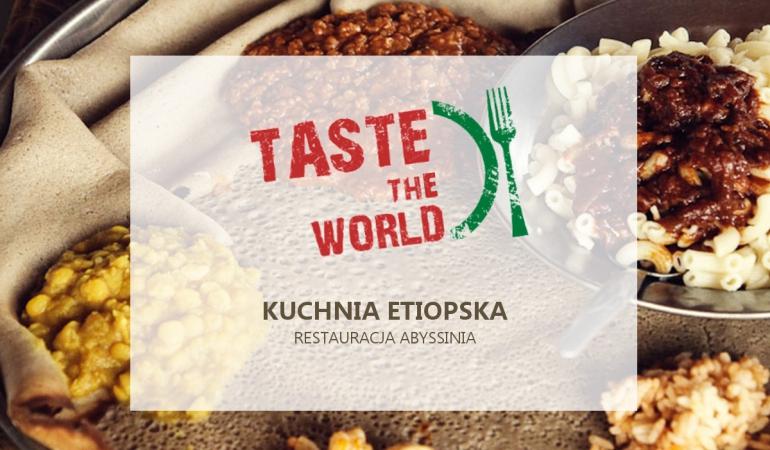 Taste The World Kuchnia Etiopska Szkolenia W Warszawie