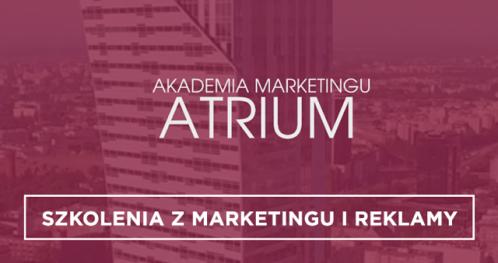 Szkolenia i kursy marketingu i reklamy Warszawa ✅  Akademia Marketingu Atrium