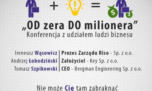 Od Zera do Milionera - panel dyskusyjny z udziałem ludzi biznesu, Uniwersytet Wrocławski