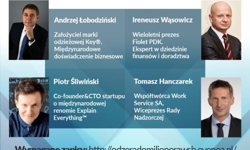 Od Zera do Milionera - panel dyskusyjny z udziałem ludzi biznesu, Wyższa Szkoła Handlowa Wrocław