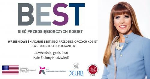 Wrześniowe Śniadanie BEST Sieci Przedsiębiorczych Kobiet dla studentek i doktorantek