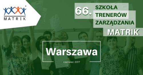 SZKOŁA TRENERÓW ZARZĄDZANIA MATRIK w Warszawie