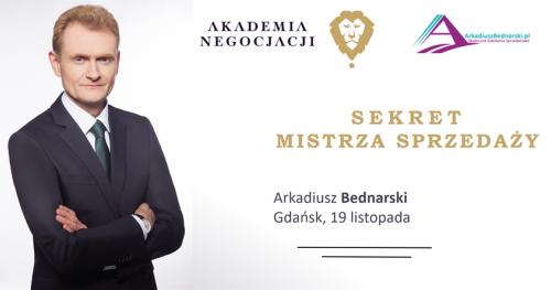 SEKRET MISTRZA SPRZEDAŻY - Arkadiusz Bednarski