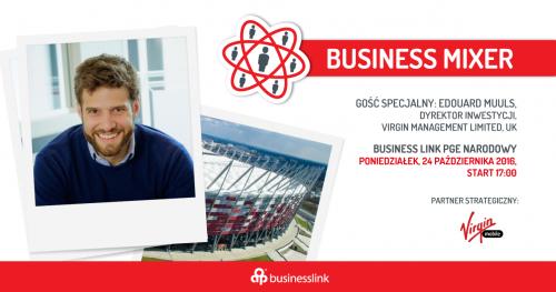 Business Mixer z Virgin Mobile / Gość specjalny: Edouard Muuls, dyrektor inwestycji Virgin