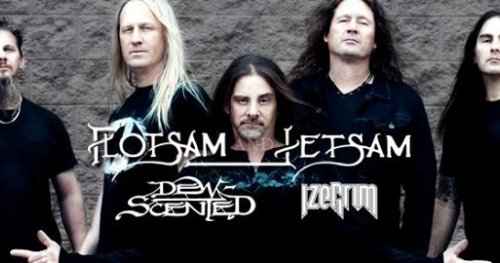 Flotsam And Jetsam + Dew-Scented, Izegrim / 6 IV / KRK