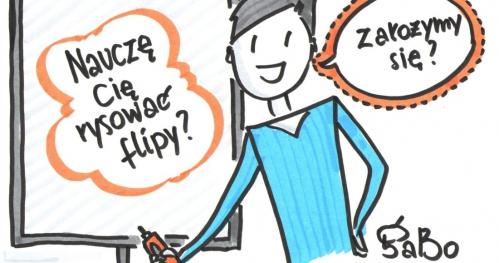 FLIPOWANIE© warsztat rysowania magicznych flipchartów - WARSZAWA 21.01