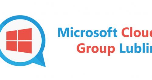 Microsoft Cloud Group Lublin #1