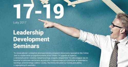 Konferencja w Kielcach Leadership Development Seminar | 17-19 Luty 2017