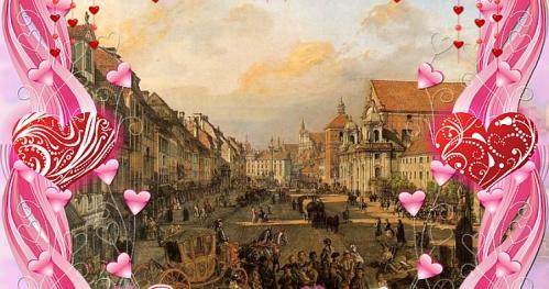 Walentynkowy romantyczny spacer po Krakowskim Przedmieściu - wtorek 14 lutego 2017