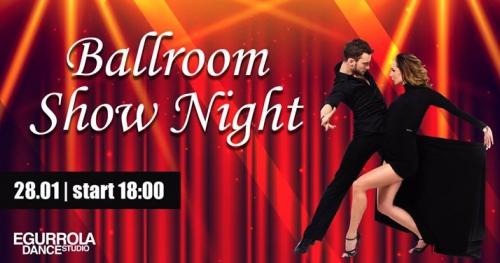 Ballrooom Show Night - wyjątkowy wieczór tańca towarzyskiego!