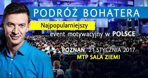 Podróż Bohatera 2017 - Mariusz Szuba 21.01.2017