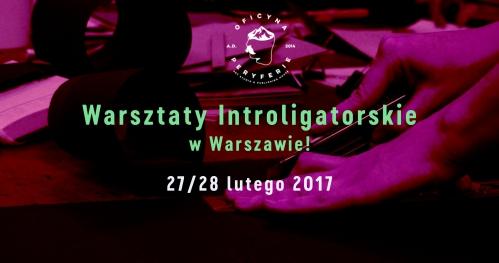 Warsztaty Introligatorskie | WARSZAWA | 27/28 Luty 2017