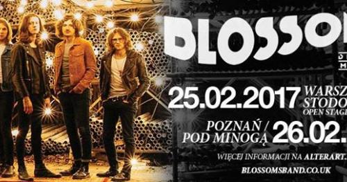 Blossoms - 26 lutego 2017 - Poznań