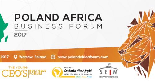 POLAND AFRICA BUSINESS FORUM 2017- Bilet VIP