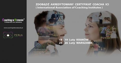 Coaching w Biznesie® - Profesjonalny Kurs Zawodowy Warszawa