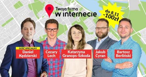 22-23.11 Gdańsk - Twoja firma w Internecie & Social Media