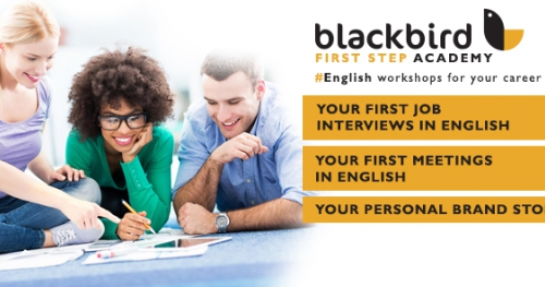 #English for Your Career workshops by Blackbird First Step Academy