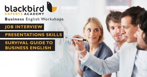 Business English Workshops by Blackbird Expert Academy
