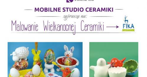 Wielkanocne warsztaty malowania ceramiki w Klubokawiarni Fika