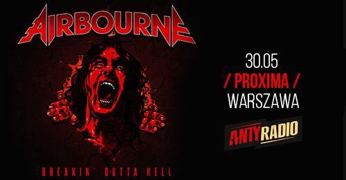 Airbourne / 30.05 / Proxima Warszawa