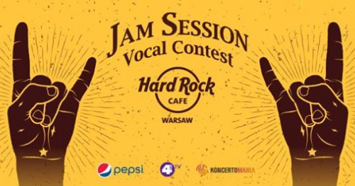 Jam Session & Vocal Contest at Hard Rock Cafe Warsaw