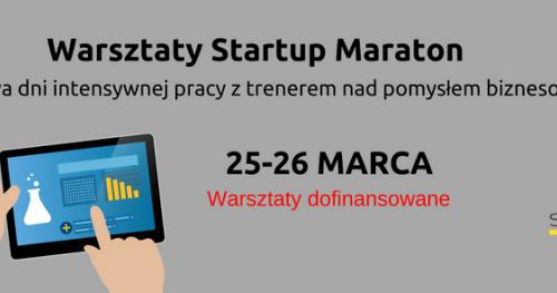 Startup Maraton Warsztaty - dofinansowane