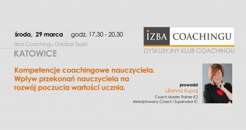Kompetencje coachingowe nauczyciela / Katowice