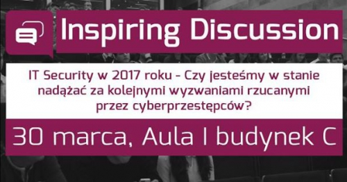 Inspiring Discussion - lT Security w 2017 roku