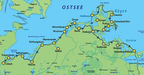 Tour de Ostssekuste - Lubeka - Świnoujście