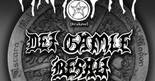 Saturday Pagan Night 27.05.2017 Kraków Schizofrenia Cafe