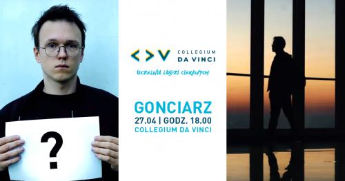 Krzysztof Gonciarz w CDV
