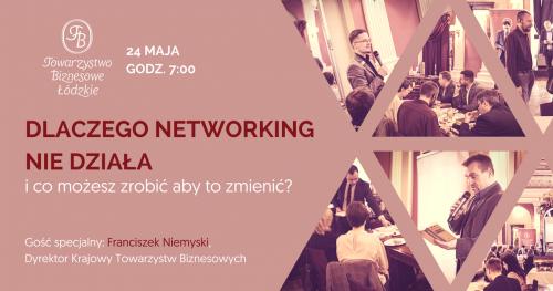 Śniadania biznesowe Towarzystwa Biznesowego Łódzkiego (maj)