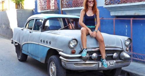 Tańcząca ze Światem na Kubie