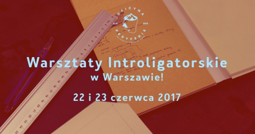 Warsztaty Introligatorskie | WARSZAWA | 22/23 czerwca 2017