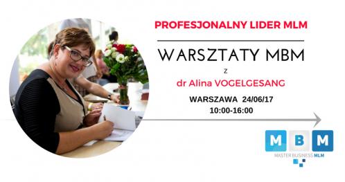 Profesjonalny Lider MLM WARSZTATY MBM z dr A. Vogelgesang