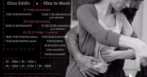 Intensywne warsztaty z Eliza La Mora i Diaa Eddin.