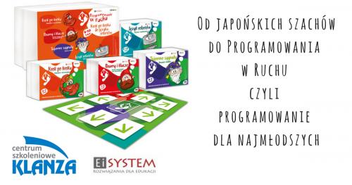 Łódź. Od japońskich szachów do Programowania w Ruchu czyli programowanie dla najmłodszych.