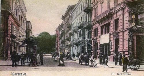 11.06.2017 - Warszawa na pocztówkach sprzed wieku. [Spacer]