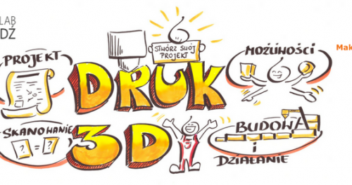Poznajemy druk 3D - warsztaty druku 3D dla dzieci w ramach Lodzkie Innovation Days