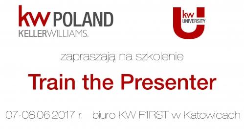 Train the Presenter - Trening Prezentacji dla Trenerów