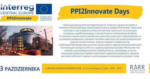 Konferencja PPI2Innovate Days