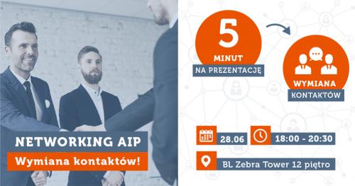 Networking AIP- wymiana kontaktów