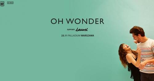 Oh Wonder: 23.11.2017 Warszawa, Palladium
