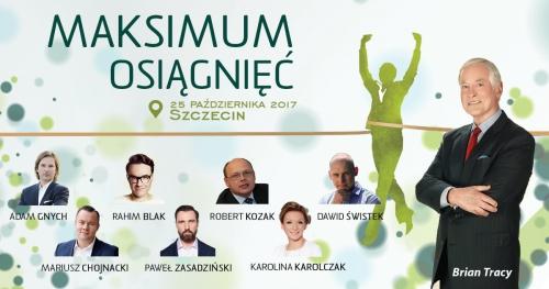 MAKSIMUM OSIĄGNIĘĆ - BRIAN TRACY - Szczecin