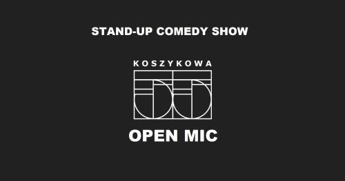 5 lipca! Stand-up open mic na Koszykowej 55