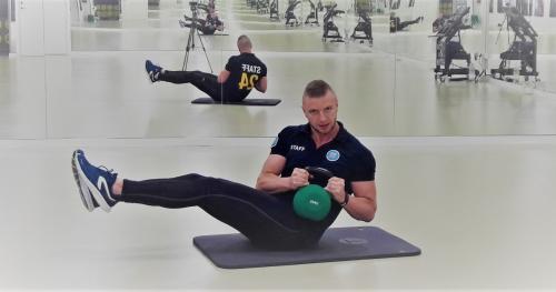 Trening obwodowy nad Balatonem z Fitness24Seven