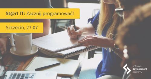 Szczecin: St@rt IT - zacznij programować! Spotkanie informacyjne