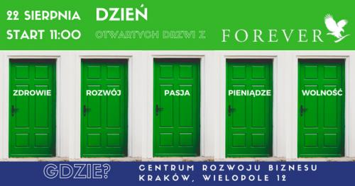Poznaj FOREVER. Dzień Otwartych Drzwi.