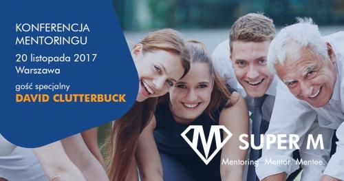 Konferencja mentoringu SUPER M z udziałem Davida Clutterbucka